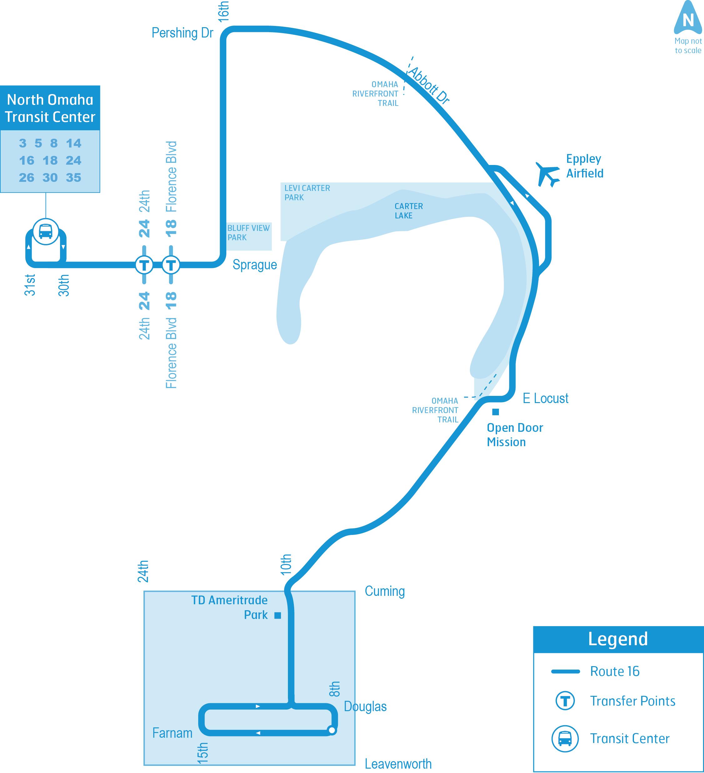 omaha metro route  route 16 1505 web