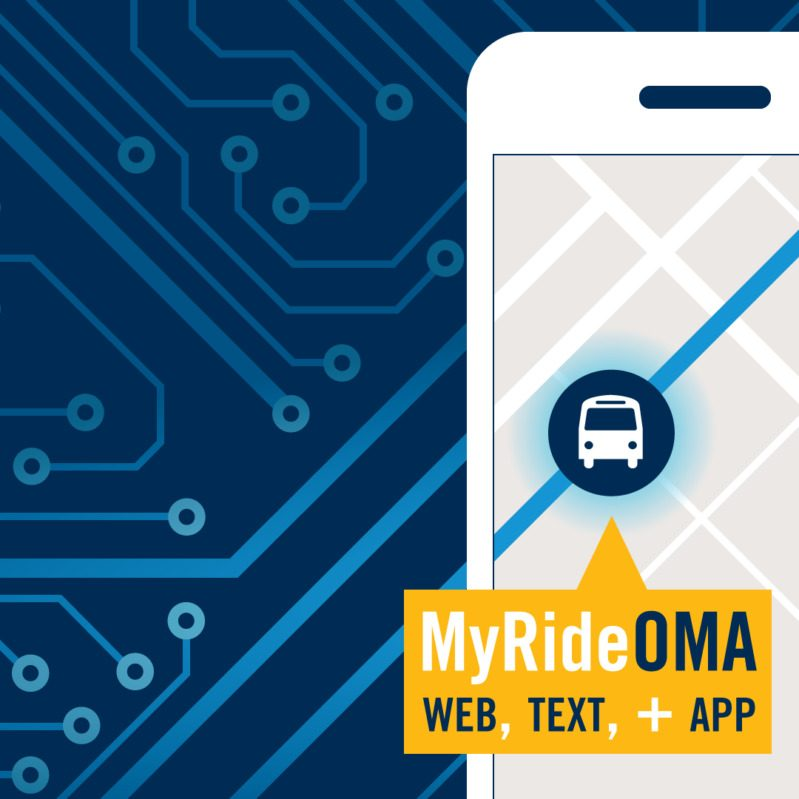 MyRideOMA is available on the App Store, Google Play, on the web and via text.