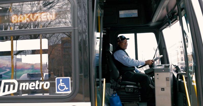 Metro bus driver