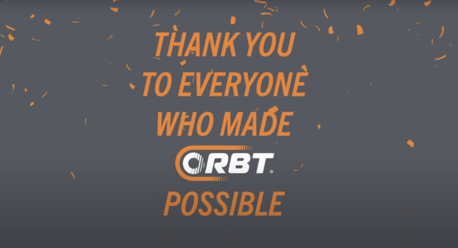 Thank you to everyone who made ORBT possible